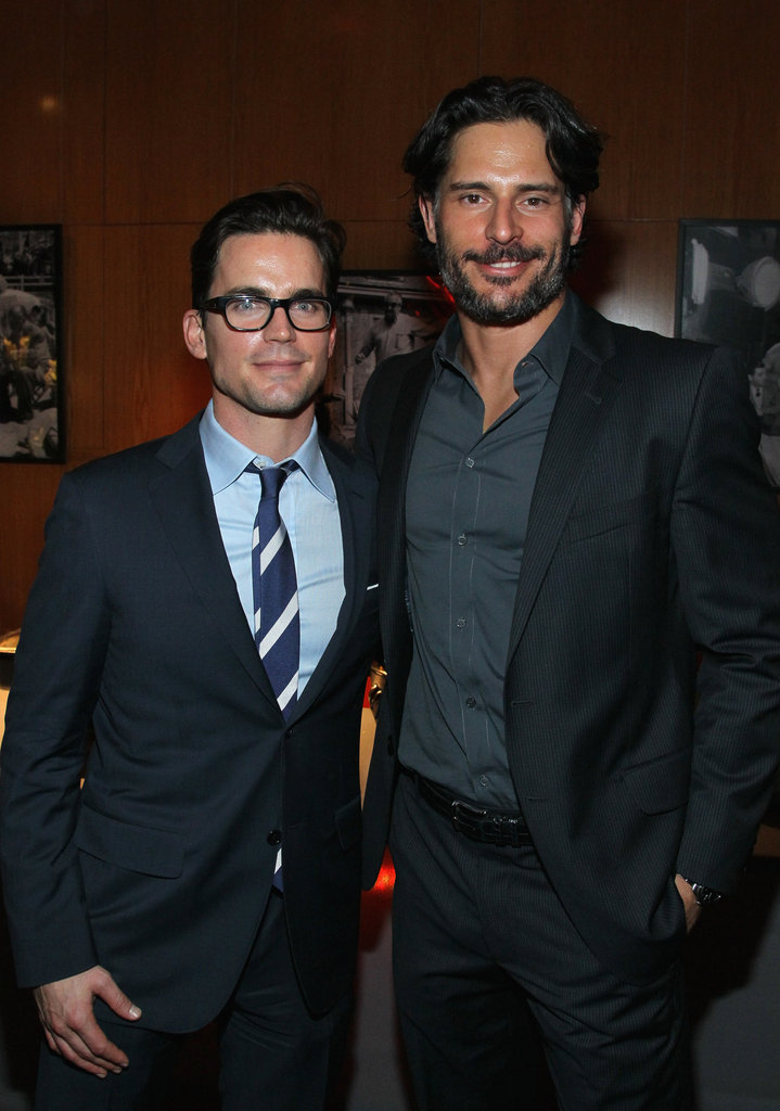 Magic Mike costars Matt Bomer and Joe Manganiello linked up at an LA party in January 2012.