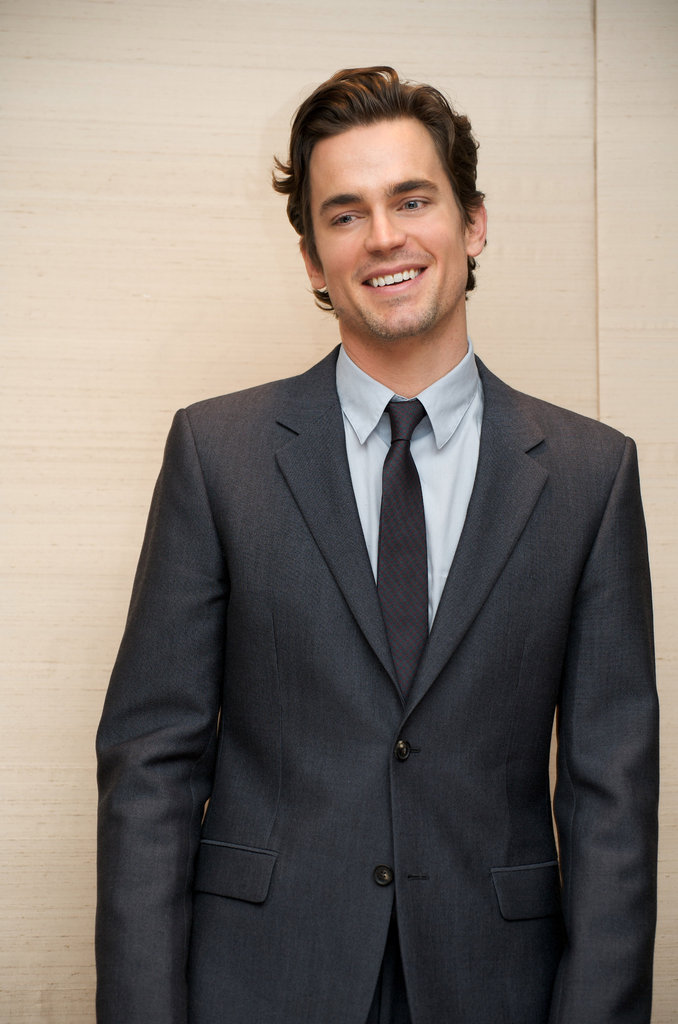 Matt Bomer attended a White Collar press conference at NYC's Four Seasons Hotel in November 2009.