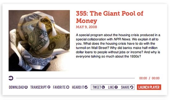 The Giant Pool of Money