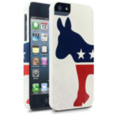 Left-leaning folk will enjoy sporting a Democratic Donkey Case ($25).