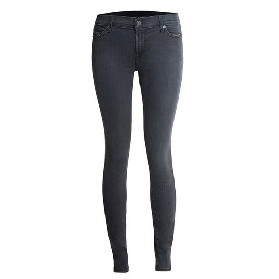 Gray jeans are great for the Winter — we're especially loving these charcoal 7 For All Mankind Skinny Legging Jeans ($90).