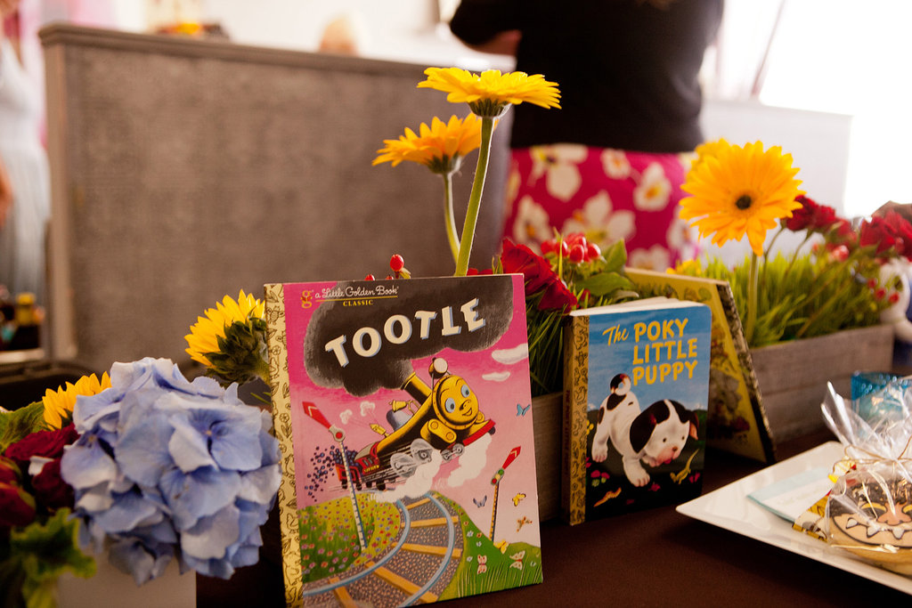 Little Golden Books Table