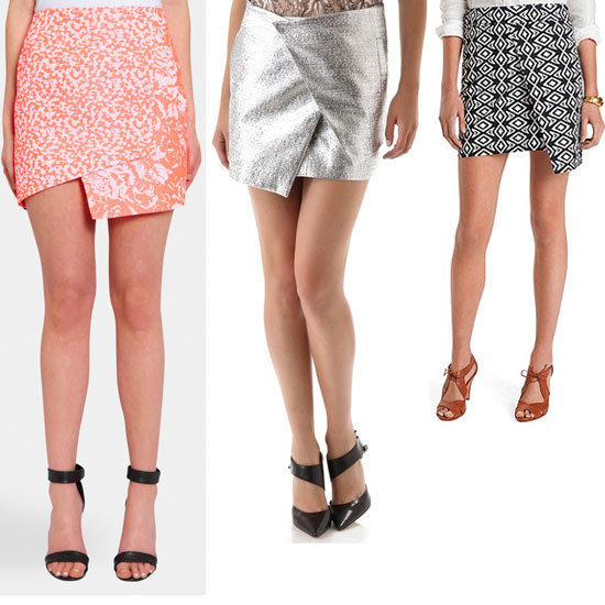 Desk-Bound Buys: Top Ten Wrap-Front Mini Skirts