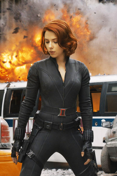 Black Widow From The Avengers