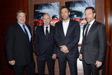 Ben Affleck attended the NYC premier of Argo.
