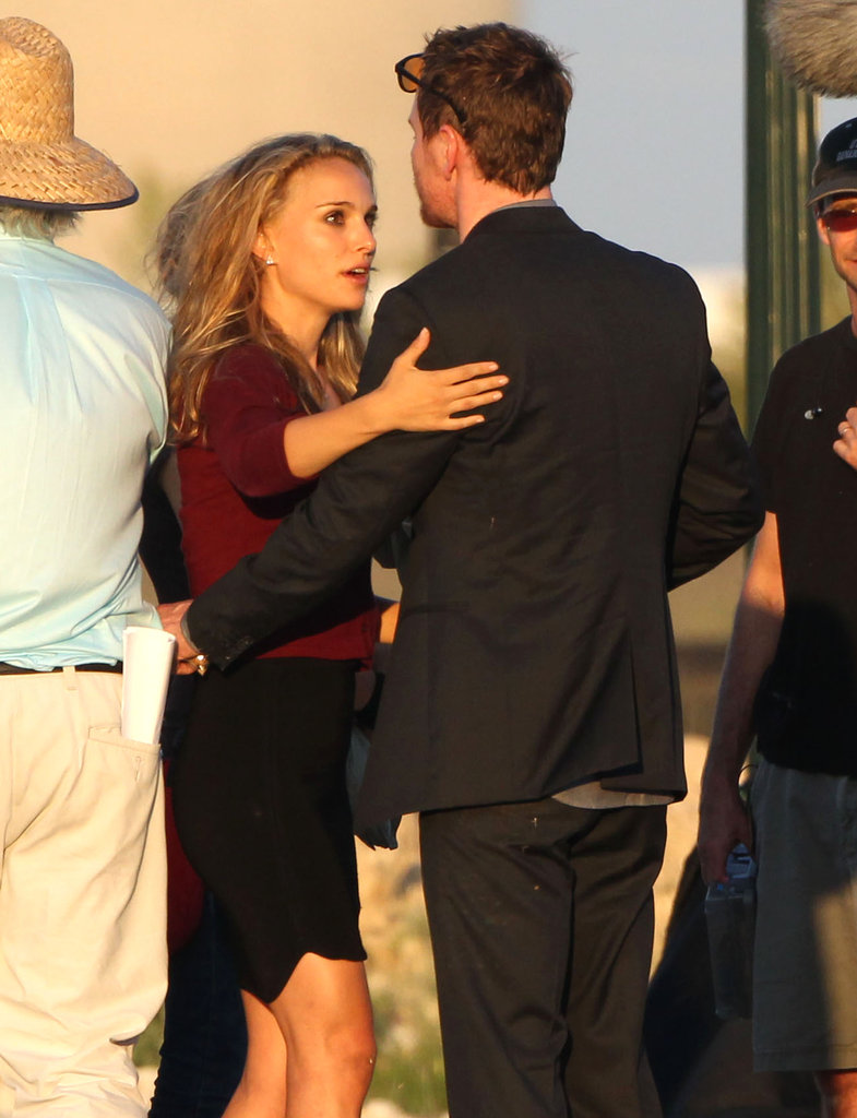 Natalie Portman was on the set of her newest movie project in Texas.