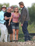 Natalie Portman was on set in Texas.