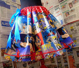 Wonder Woman, Batgirl, and Supergirl Skirt ($58)