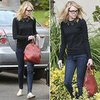 Emma Stone Carrying a Burberry Bag