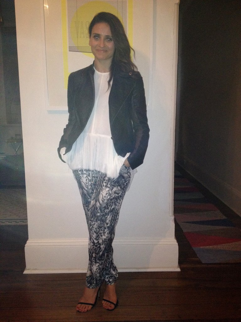 Date night at Chiswick! Marisa wore Zara pants, Camilla & Marc top, Lucette jacket and Tony Bianco heels.