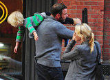Naomi Watts, Liev Schreiber, and Kai spent time together in NYC.