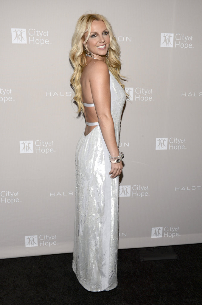 Britney Spears attended the City of Hope charity's gala in LA.