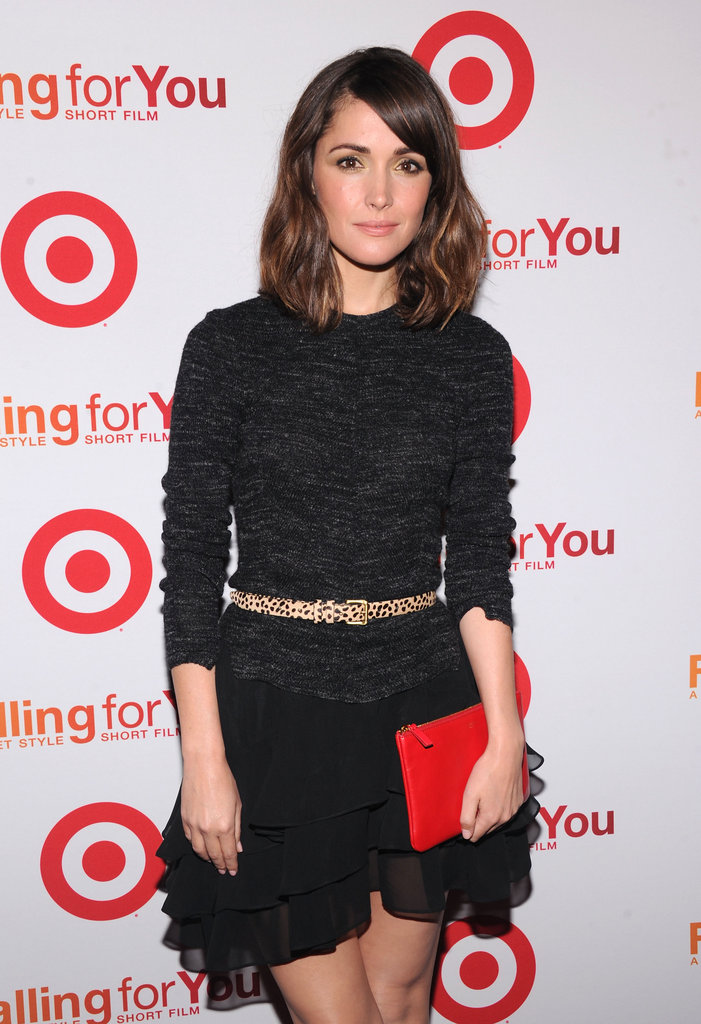 Rose Byrne was in attendance for the Target party in NYC.