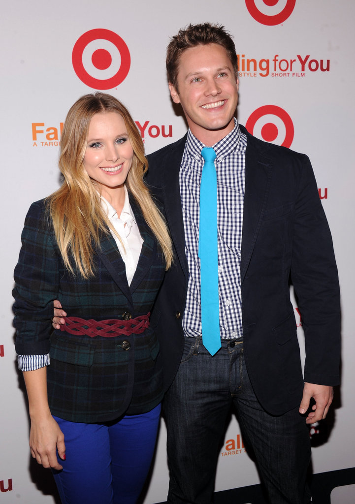 Kristen Bell linked up with Zachary Abel for the Target party in NYC.