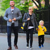 Naomi Watts and Liev Schreiber Bike With Sons in NYC