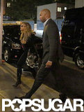 Beyoncé arrived at Gwyneth Paltrow's NYC bash.