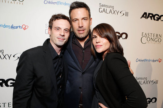 Ben Affleck Shows Affection For His Argo Cast at a Charity Screening