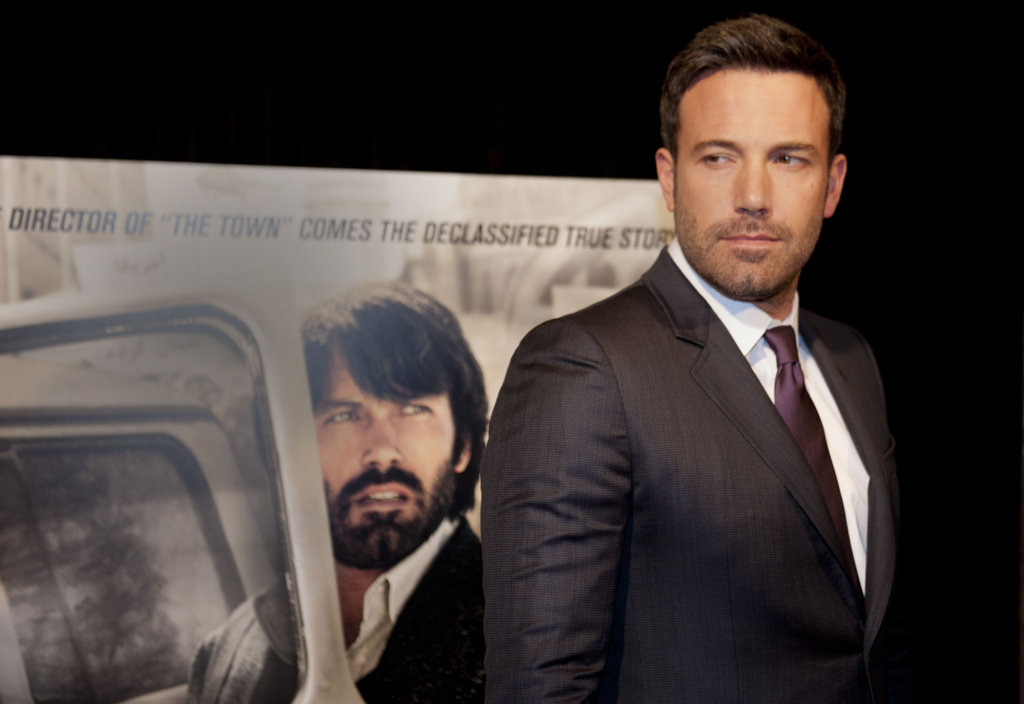 Ben Affleck attended his Argo premiere in Washington DC.