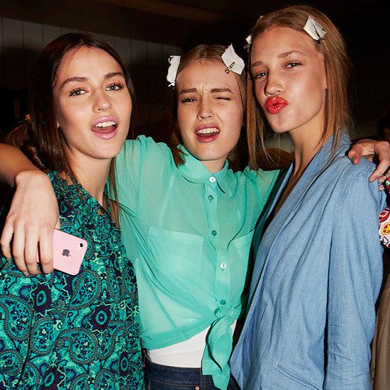 All the Candid, Backstage Fun From The ASOS Fashion Show!