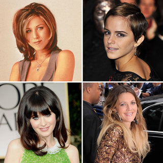 10 Iconic Celebrity Hair Moments, Including The Rachel, Zooey Deschanel, Alexa Chung, Michelle Williams, The Pob & More