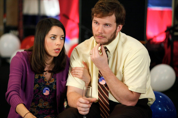 April and Andy From Parks and Recreation