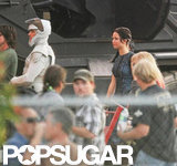 Jennifer Lawrence was on set in Atlanta