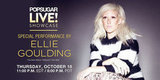 Watch Ellie Goulding Perform LIVE at PopSugar!