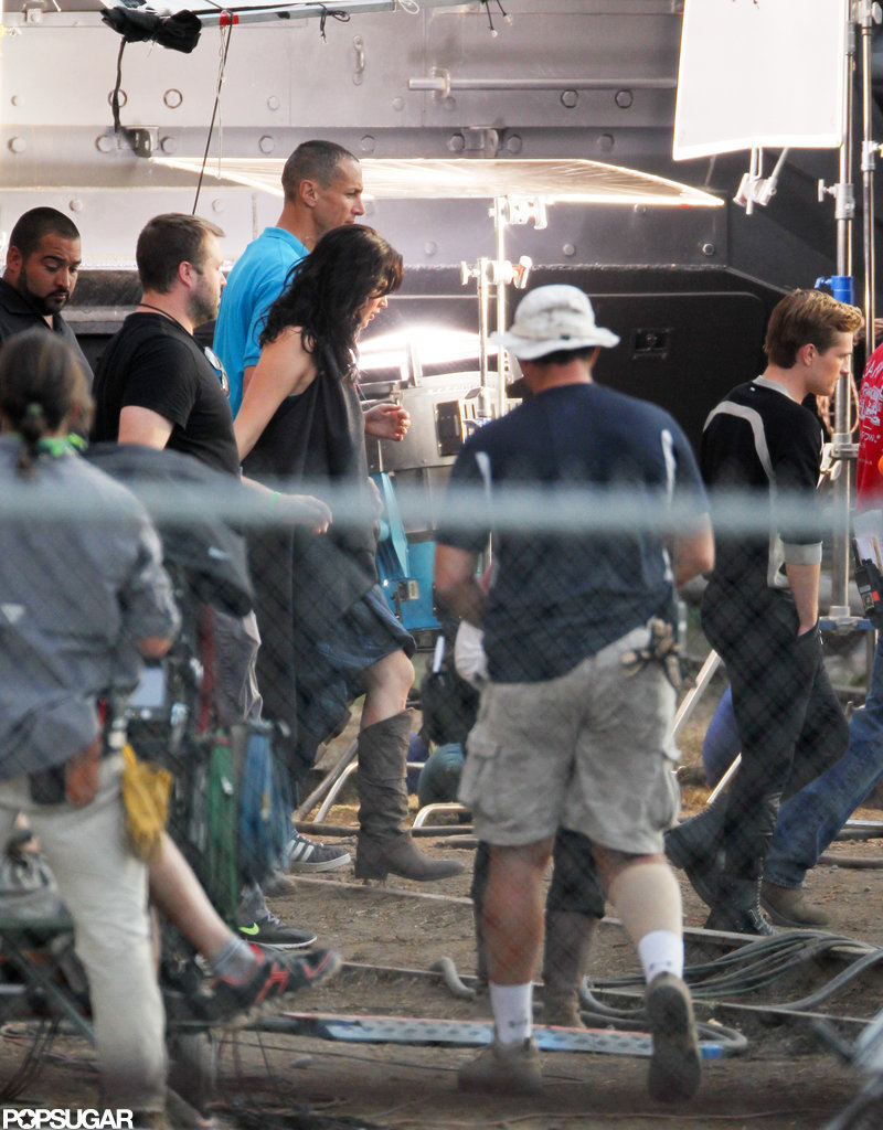 Jennifer Lawrence was on set in Atlanta.