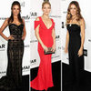 Kate Hudson Wears Red Prabal Gurung Dress at amfAR