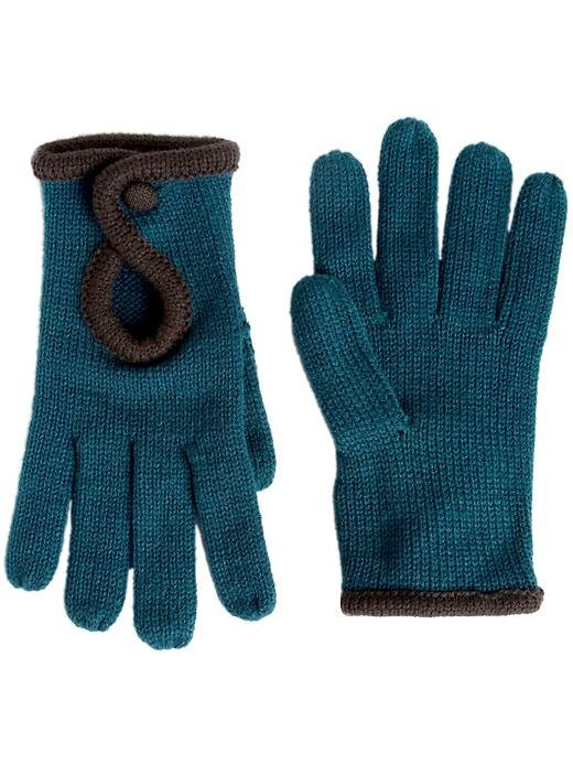 With just the slightest nod to ladylike silhouettes — hello, driving gloves! — this fun pair of teal-hued knit gloves from Jessica Simpson ($40) is a girlie Fall fit.