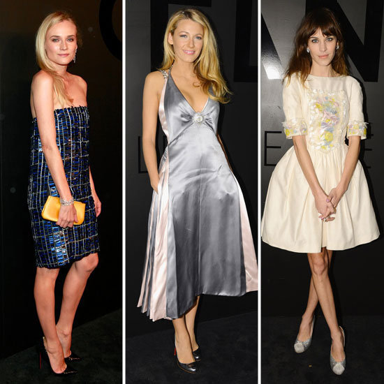 Chanel's fine jewelry fete attracted a stunning crowd of celebrities this week, dressed in Chanel's finest.