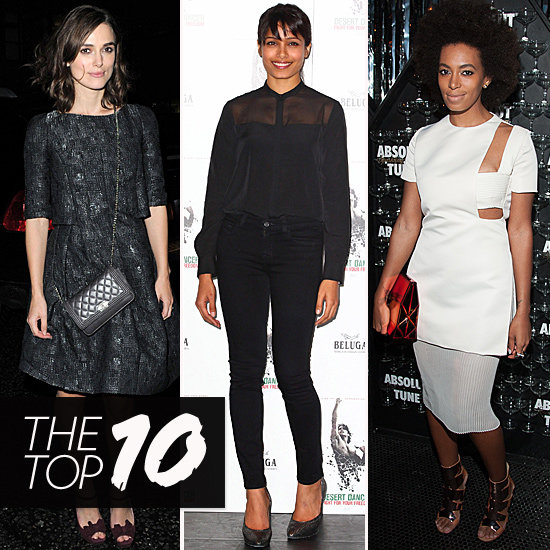 Keira, Solange, and Freida Take Top Spots in This Week's Top 10