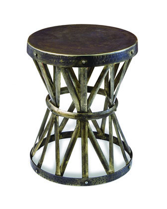 The Zemico Side Table ($299) would make for a fresh, eclectic side table.