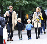 Naomi Watts and Liev Schreiber did the school run together in New York on October 11 as they picked up sons Alexander and Samuel.