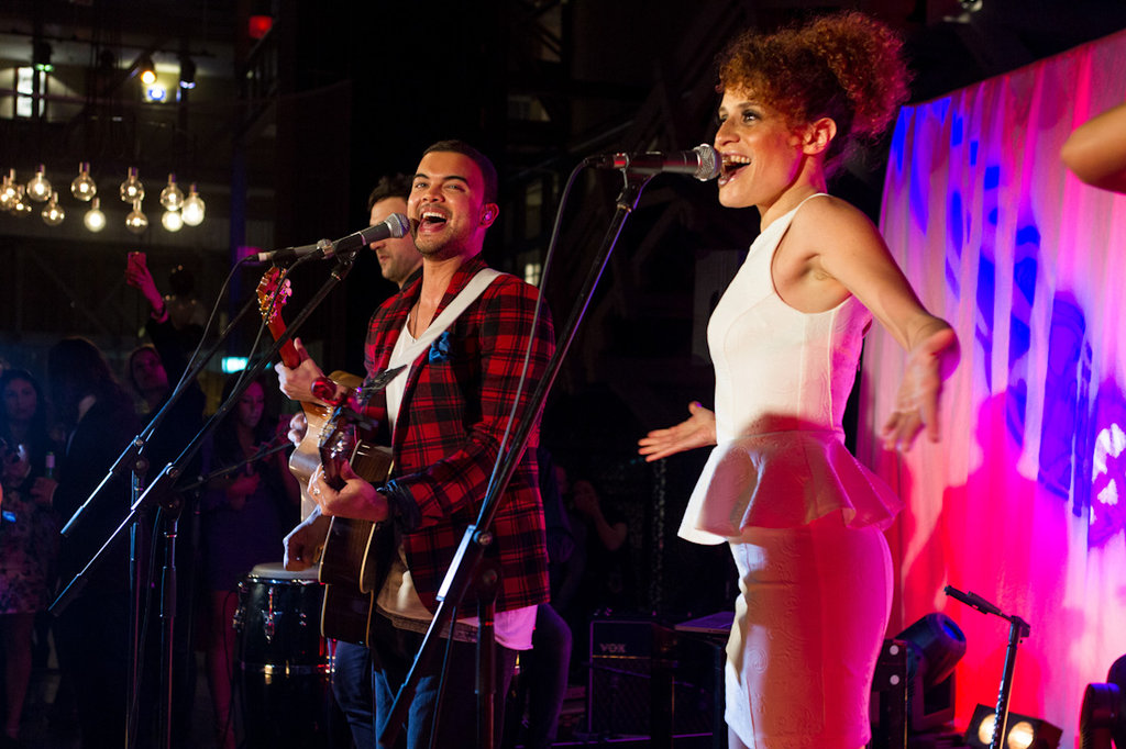 Guy Sebastian and Carmen Smith