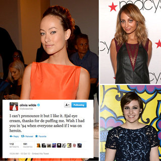 Funny And Clever Celebrity Tweets: Olivia Wilde, Nicole Richie, Lena Dunham, Lady Gaga, Adam Levine, Taylor Swift, Alexa Chung