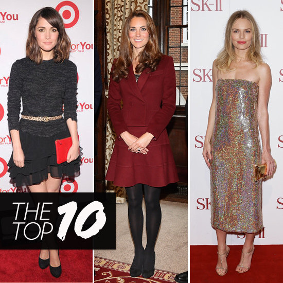 Top Ten Best Dressed of the Week: Kate Bosworth, Kate Middleton, Rose Byrne & More
