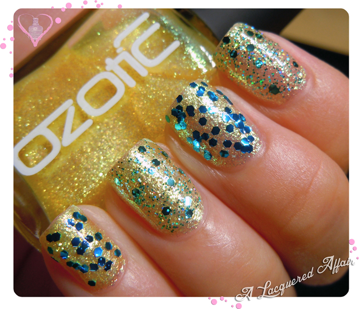 OZOTIC Sugar 904 with Tony Moly GS01 and L.A. Girl Nostalgic