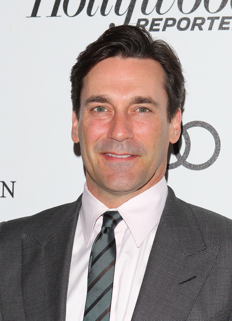 Jon Hamm posed on the red carpet of the Reel Stories, Real Lives event in LA.