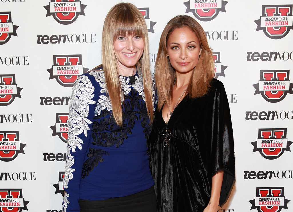 Nicole Richie got together with Amy Astley at the Teen Vogue Fashion University event in NYC.