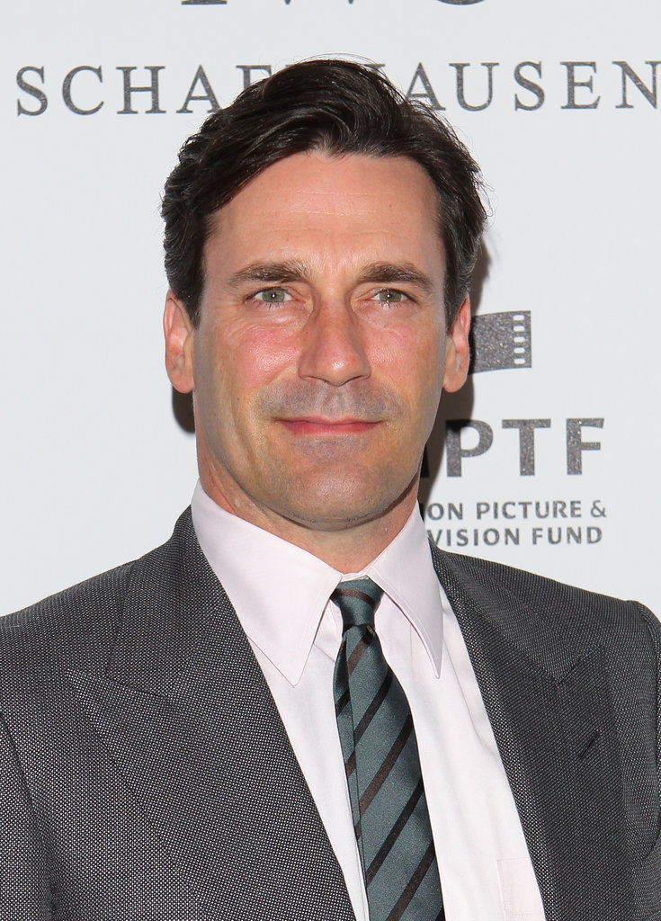 Jon Hamm hit the red carpet.