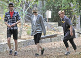 Andrew Garfield and Emma Stone were out in LA.