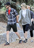 In October 2012, Andrew Garfield and Emma Stone held hands for a hike at Wilacre Park in LA.