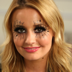 Spiderweb Makeup For Halloween