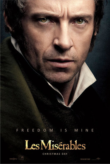 Hugh Jackman in Les Misrables