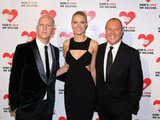 Ryan Murphy, Michael Kors, and Gwyneth Paltrow attended the Michael Kors Golden Heart Gala in NYC.