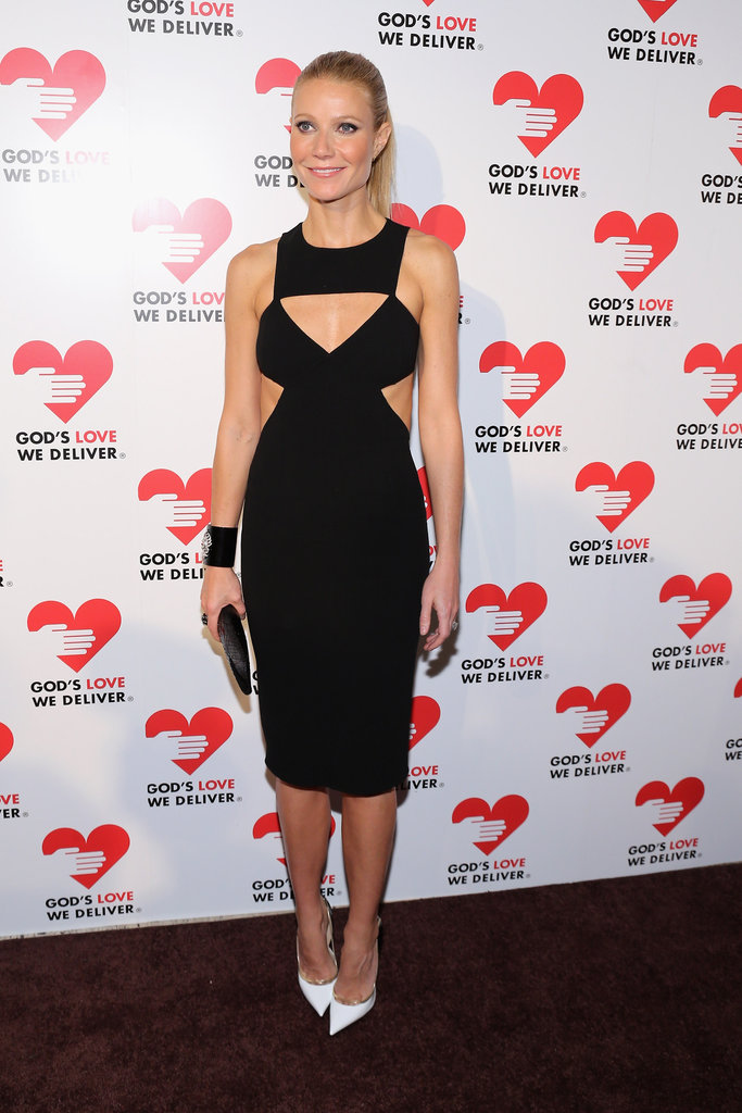 Gwyneth Paltrow stepped out in NYC at the Golden Heart Gala.