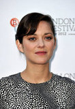 Marion Cotillard posed for photos at a screen talk in London