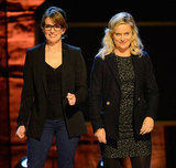 Tina Fey and Amy Poehler were onstage in NYC to support autism research.