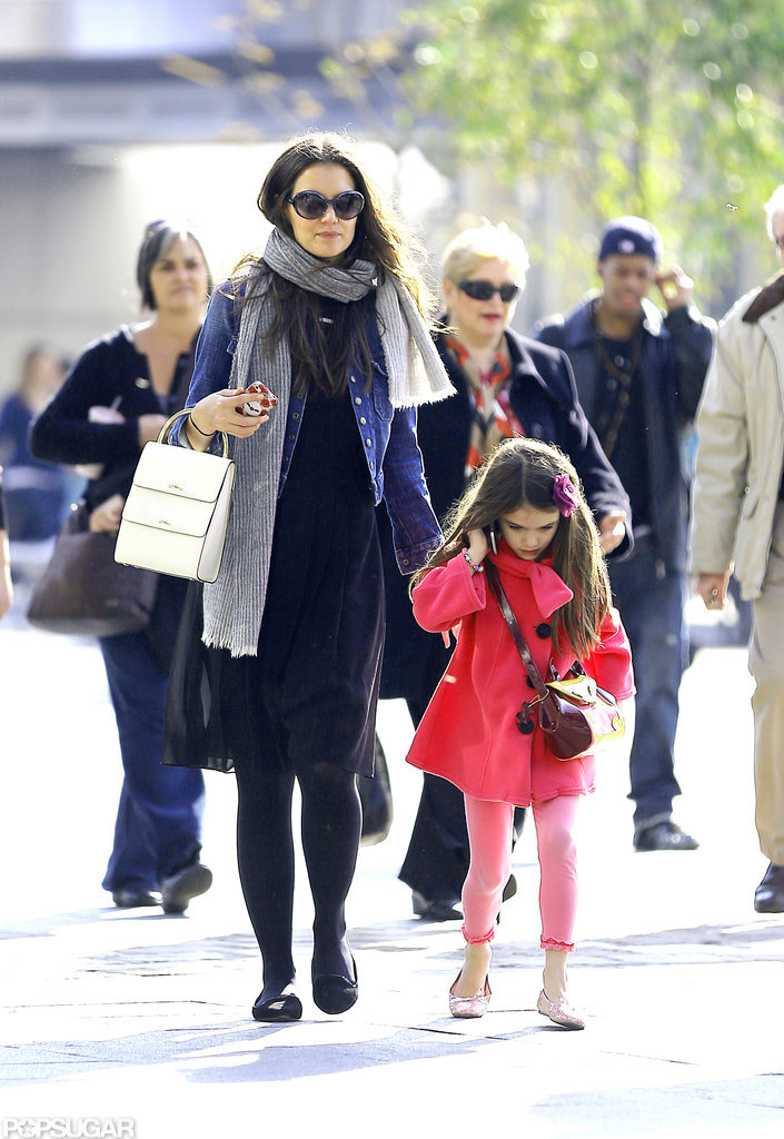 Katie Holmes and Suri Cruise spent some time together in NYC.